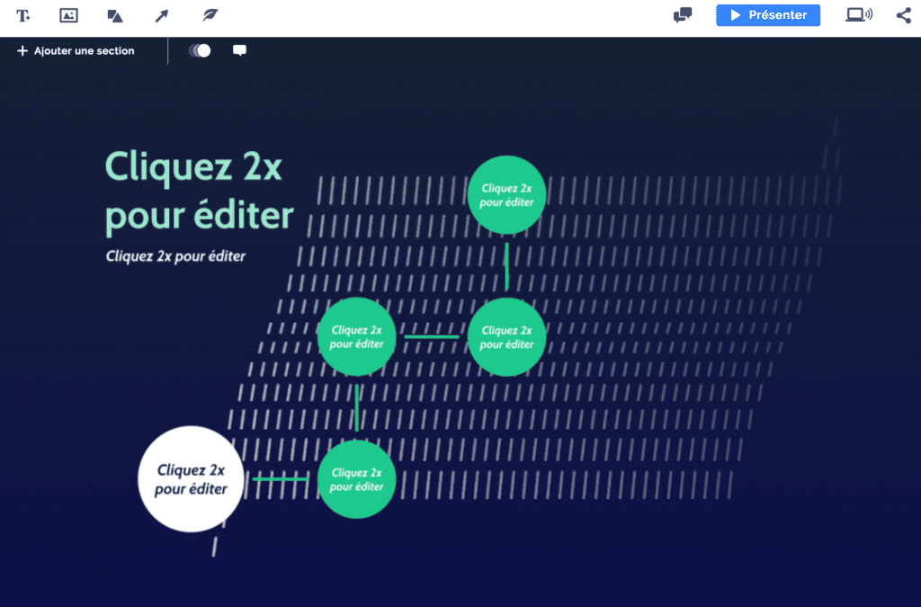 Comment customiser un template Prezi